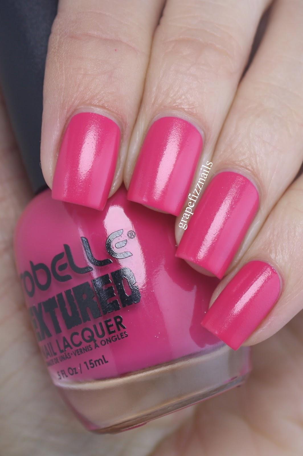 Line Texture On Nails : Grape fizz nails probelle textured nail lacquer