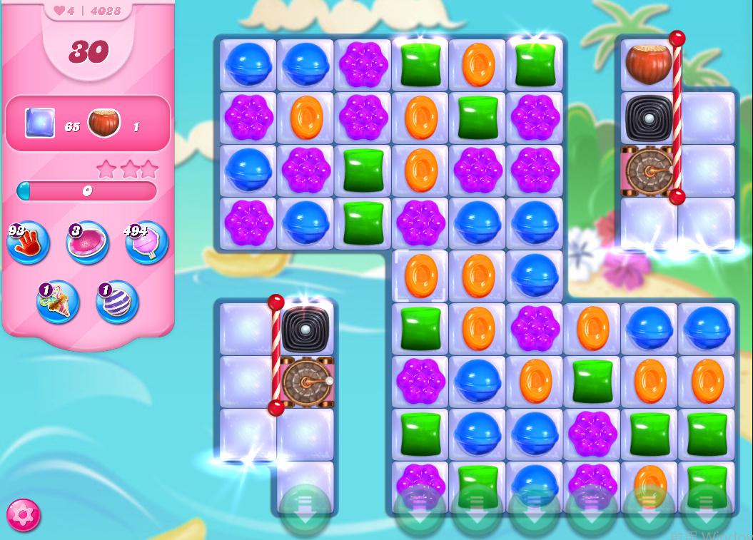 Candy Crush Saga level 4028