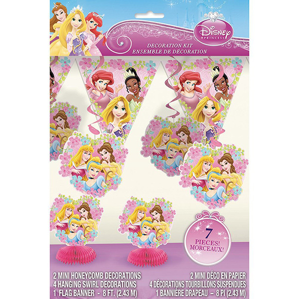 Disney Princess Party Decoration Kit