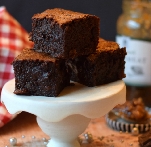 Chocolate brownies are a great recipe for using up left over mincemeat