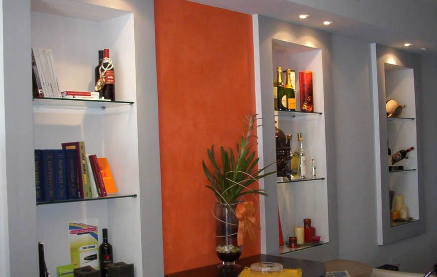 Cabina Armadio Cartongesso Zone : Come costruire una libreria in cartongesso arredamento facile