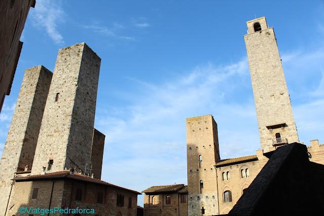 San Gimignano, Toscana, Itàlia