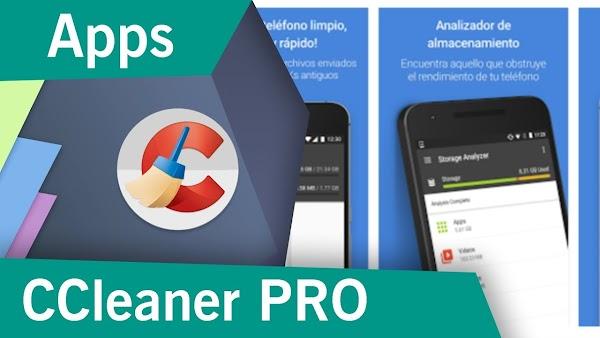 CCleaner Pro Ultima Versión, Limpia tu dispositivo Android