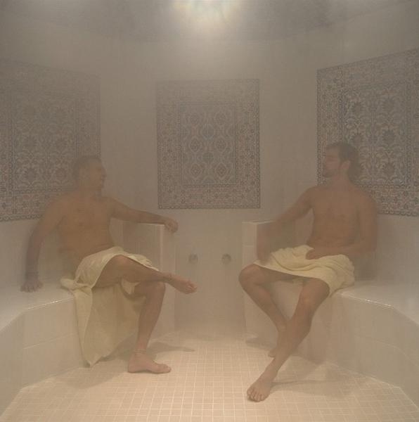 Resultado de imagen para gay sauna vapor
