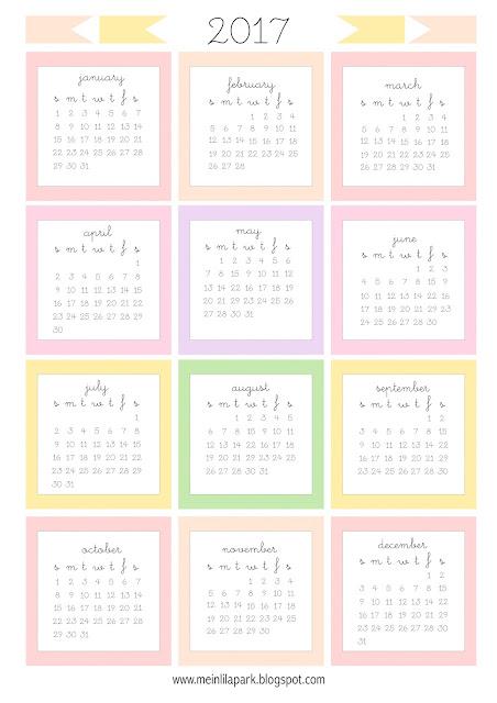 Printable Yearly Mini Calendar 13 Free Printable Calendars For 2018 The Balance Free Printable 2017 Mini Calendar Cards Bullet Journal