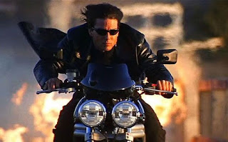 Mission Impossible 2 Tom Cruise motorcycle chase