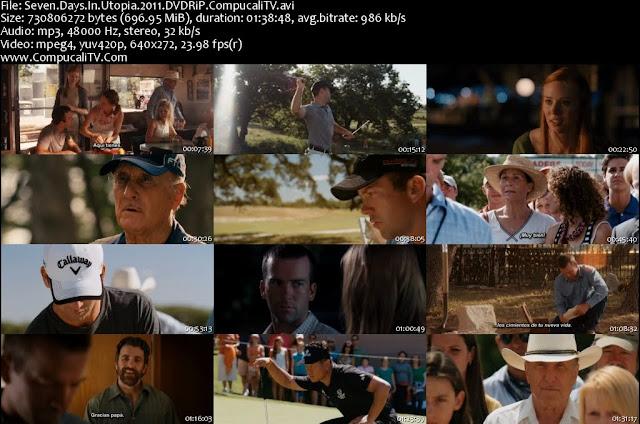 Seven Days in Utopia Descargar DVDRip Subtitulos Español Latino 1 Link 2011