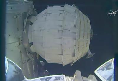 NASA розкрило надувний житловий модуль BEAM