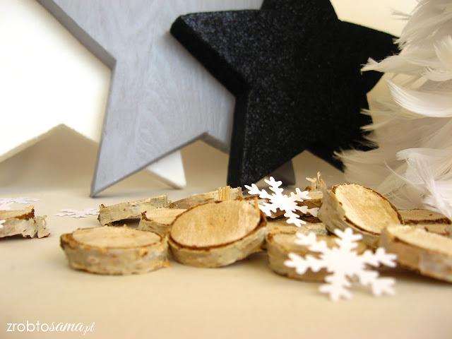Jak zrobić świąteczne drewniane gwiazdy DIY