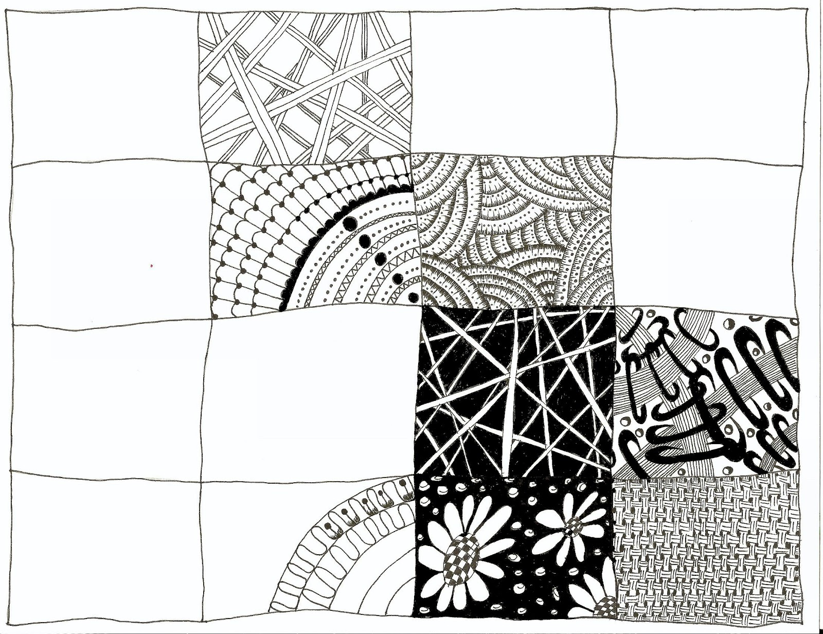 Zentangle Basic Patterns – HD Wallpapers