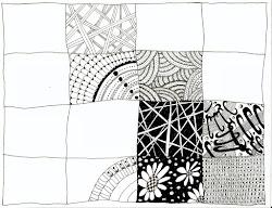 zentangle patterns zendoodle sampler zentangles pattern craft parchment doodles things doodle zen drawings allthingsparchmentcraft