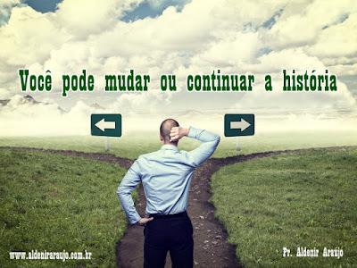 Você pode mudar ou continuar a história