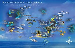 karimun jawa island resort map