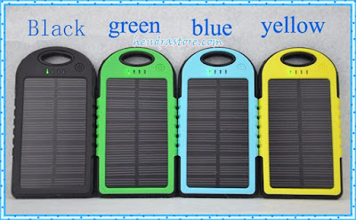 Jual Power Bank Solar Cell - Powerbank Tenaga Matahari Murah
