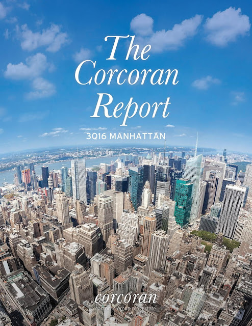 Manhattan Market Report Q-3 2016 Corcoran report