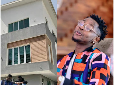 4 Years Into The Game Kiss Daniel Rewards Himself With A New House