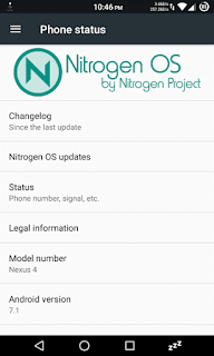 How To Install NitrogenOS Android 7.1 ROM On Nexus 4