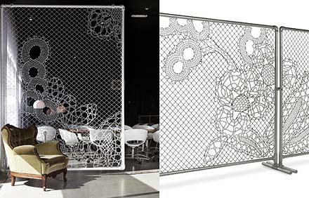 Marzua lace fence vallas de jard n decorativas de demakersvan - Vallas decorativas ...