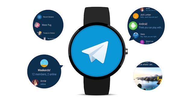 أعلنت شركة تليجرام Telegram عن إصدار نسخه من تطبيقها للساعات الذكيه