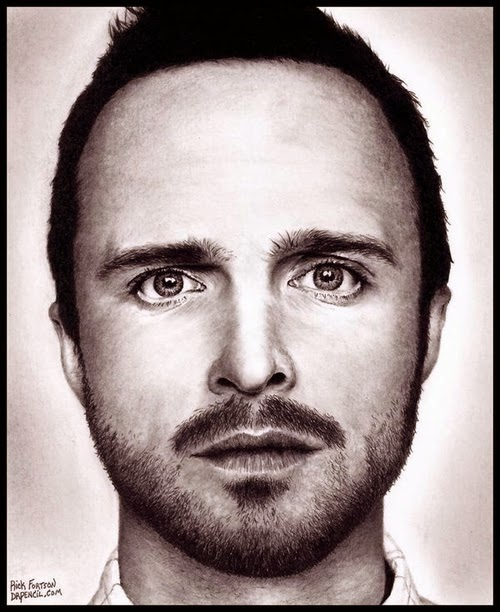 02-Aaron-Paul-Jesse-Pinkman-Breaking-Bad-Rick-Kills-Pencils-DrPencil-Hyper-Realistic-Rick-Fortson-www-designstack-co
