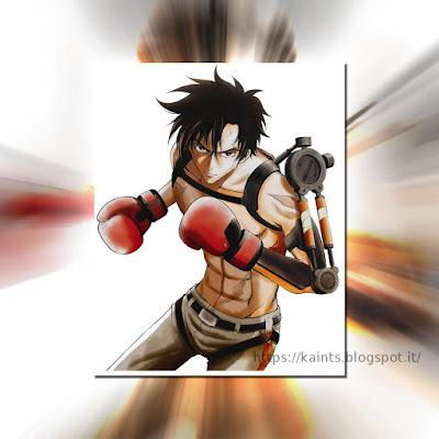 Megalobox - Shukumei no Sōken adattamento in manga di Megalobox