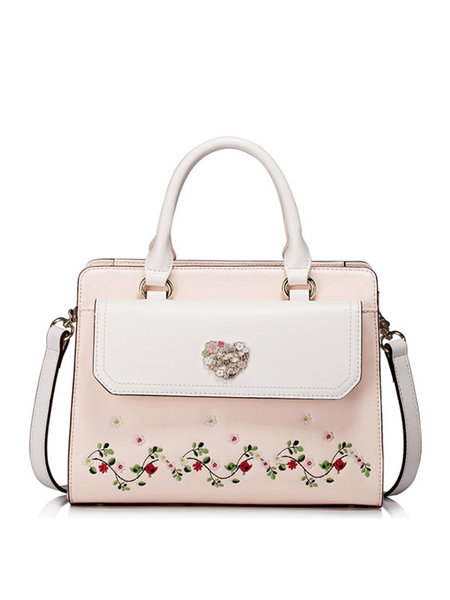 https://www.stylewe.com/product/pink-sweet-floral-embroideried-zipper-top-handle-37380.html