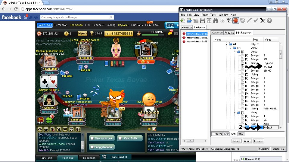 Icon Charles Proxy 3 6 4 Vs Poker Texas Boyaa