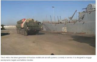 l'idée de voir des S-300 en Syrie