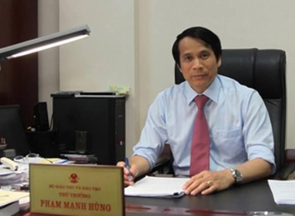 Thứ trưởng Phạm Mạnh Hùng