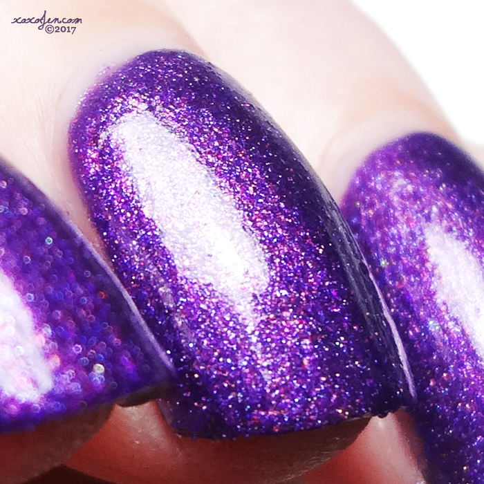 xoxoJen's swatch of Tux Polish - Love Potion No. Wine