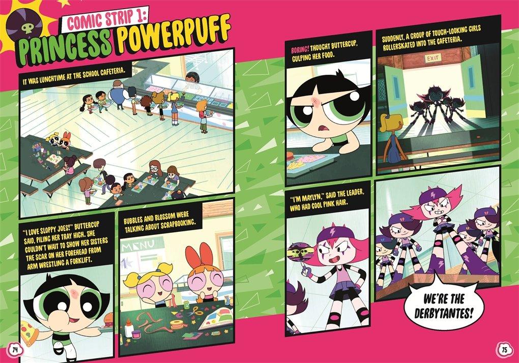 The world Powerpuff girls comic strips