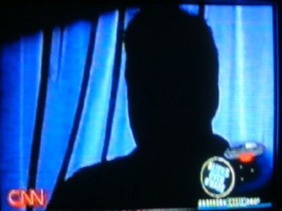 O'Hare UFO Eye Witness Appears in Silhouette on CNN