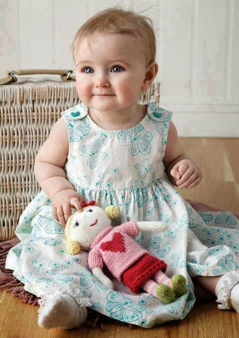 çok tatlı güzel bebek