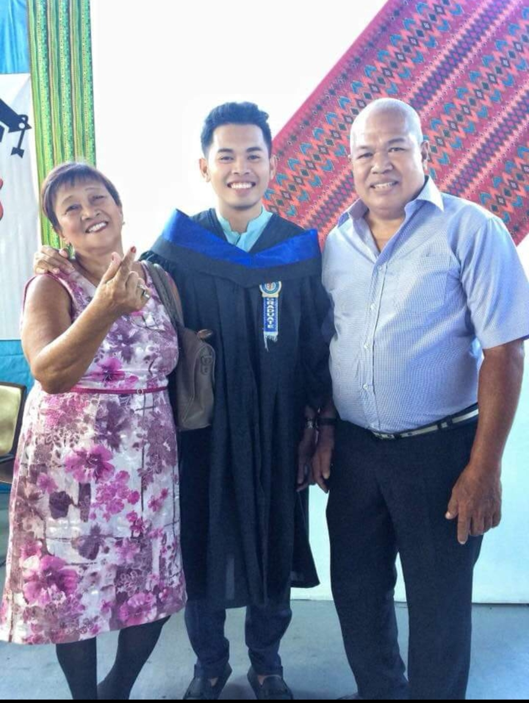 September 2018 LET topnotcher offers success to couple who adopted him