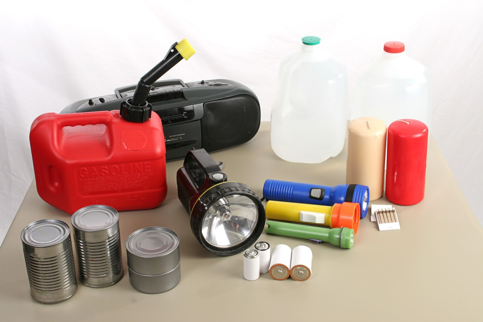 Items Needed for Natural Disasters  via  www.productreviewmom.com