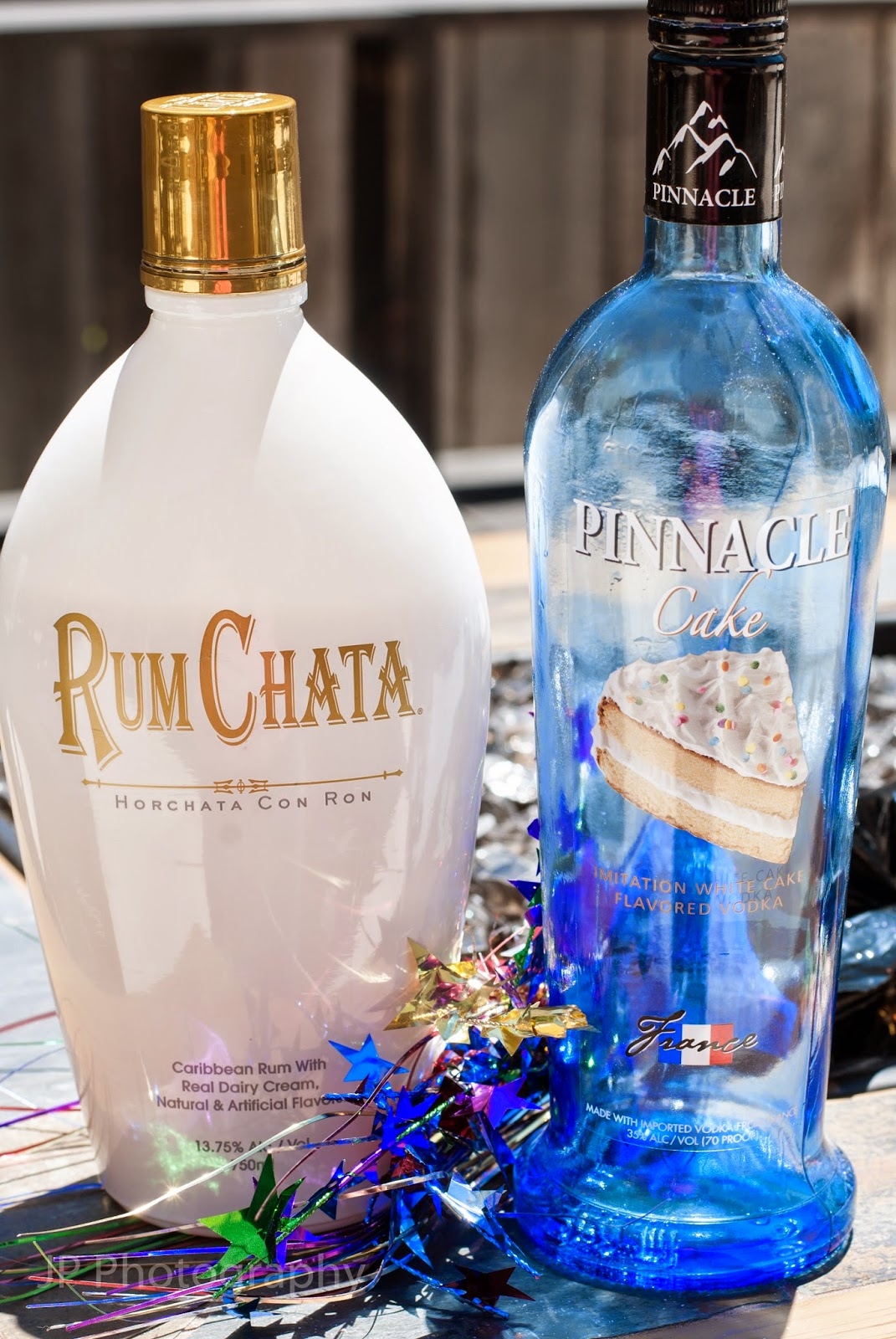 confetti cocktail, rum chata, cake vodka