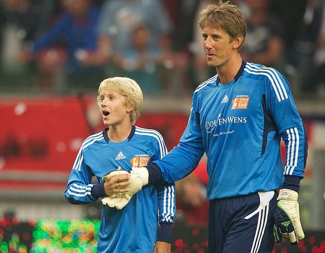 Edwin și Joe van der Sar