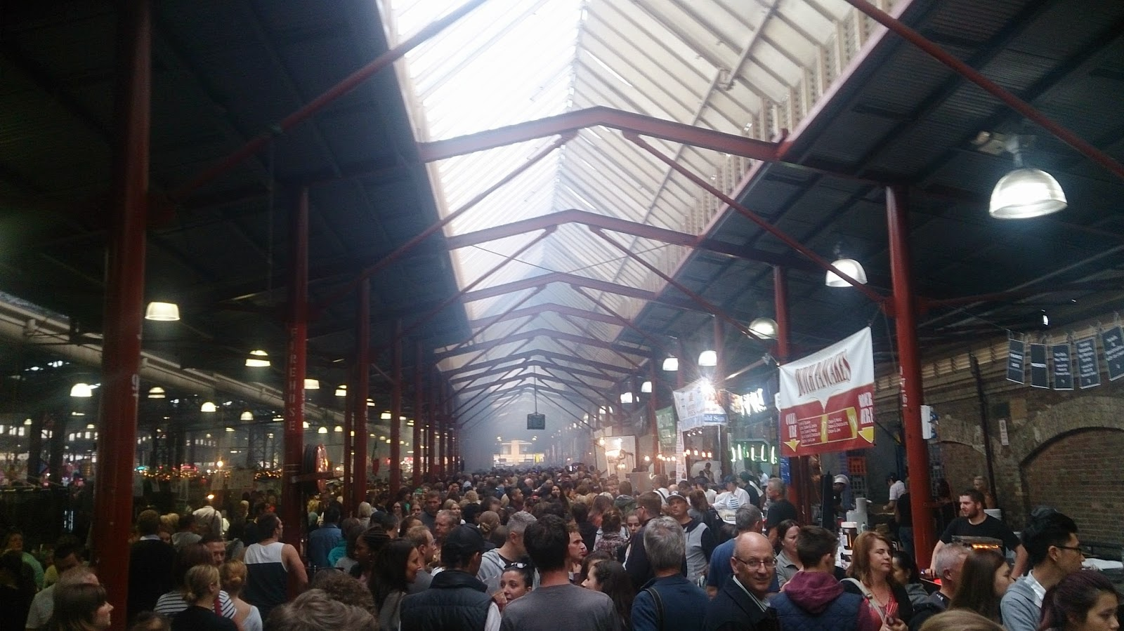 Crowded Night Market