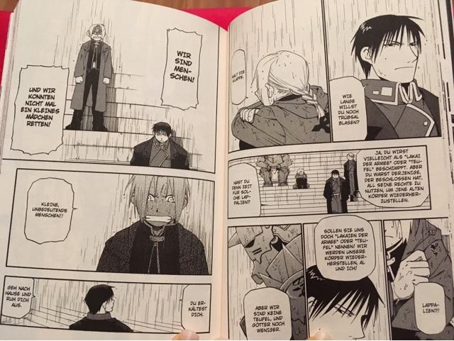 Rezension zu Manga und Anime Fullmetal Alchemist