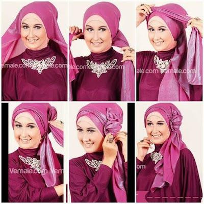 Tutorial Hijab Pengantin Simple untuk Acara Akad Nikah dan Resepsi Pesta Pernikahan