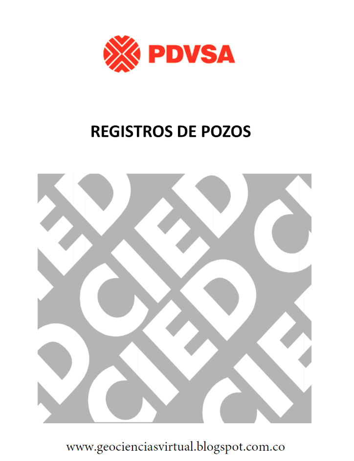 Geociencias Virtual: Manual Registros de Pozos Por CIED
