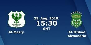 اون لاين مشاهدة مباراة المصري البورسعيدي والاتحاد السكندري بث مباشر 25-8-2018 الدوري المصري الممتاز اليوم بدون تقطيع
