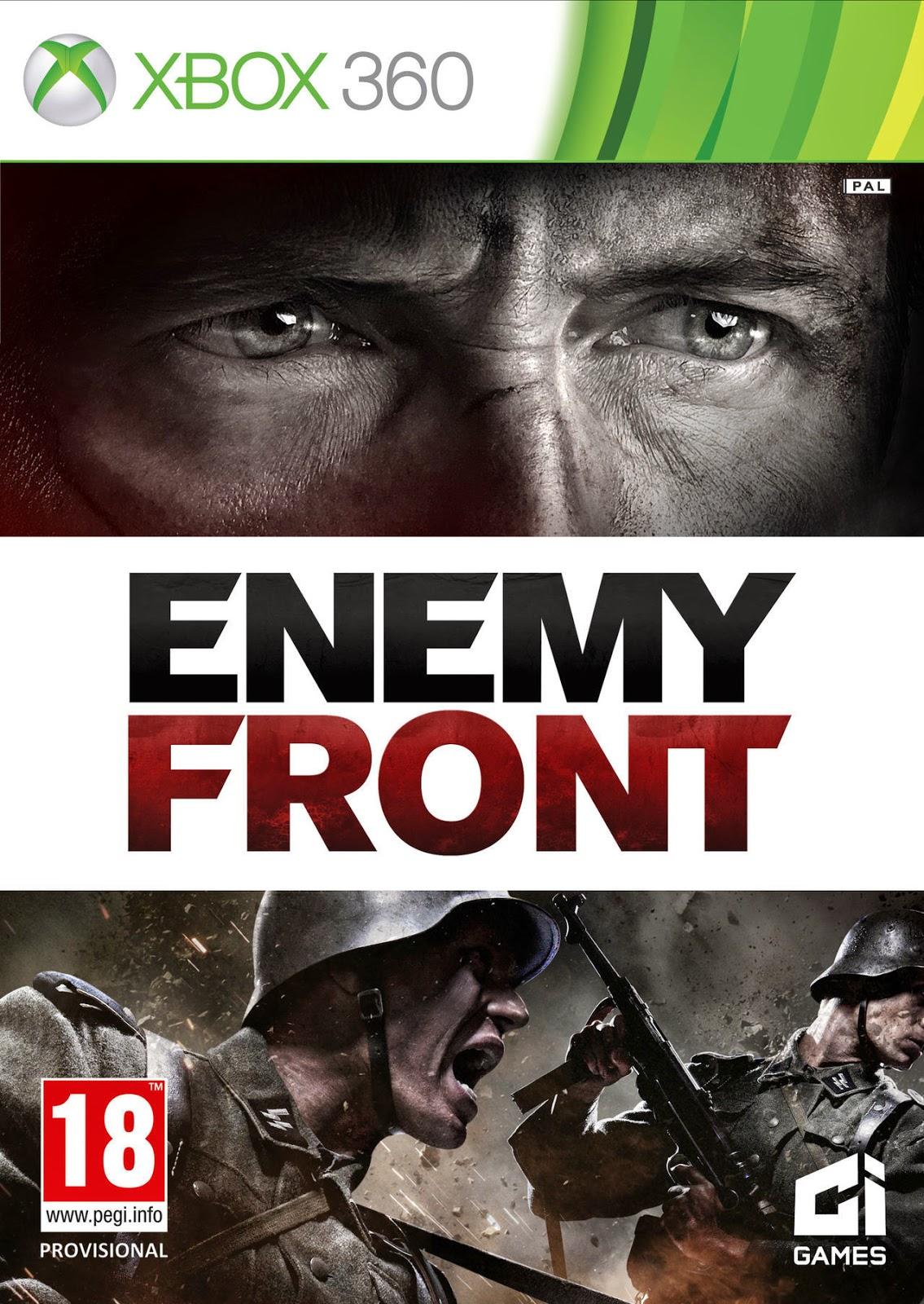 Cover Caratula Enemy Front XBOX 360 ESPAÑOL Descargar