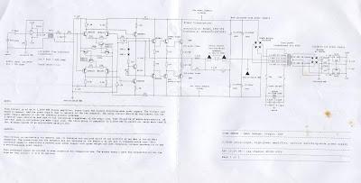 5000W High Power Amplifier Circuit Diagram Schematic
