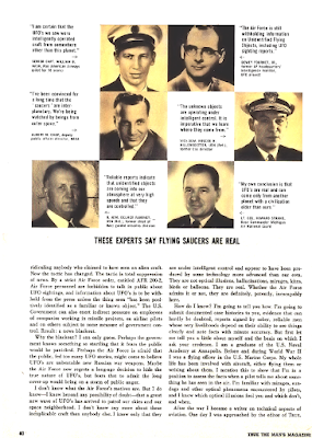 U.S. Air Force Censorship of The UFO Sightings (Pg 2) - True Magazine Jan 1965