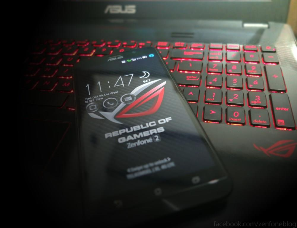 ASUS Plans To Launch ZenFone 2 ROG With 4GB RAM And 256GB