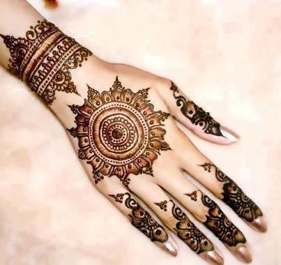 mehndi dizain. New Mehendi Designs Just for you   Wedding Bels