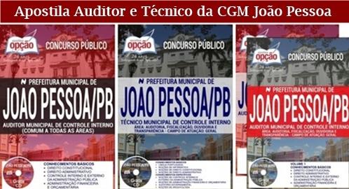 Apostila Prefeitura de João Pessoa 2018