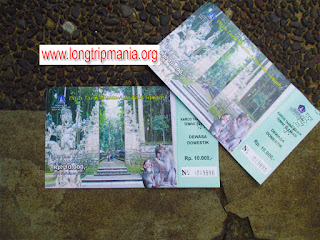 Tiket Masuk Ke Tempat Wisata Alas Pala Sangeh Badung Bali