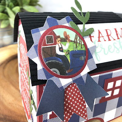 Echo Park Paper Down on the Farm Paper Collection